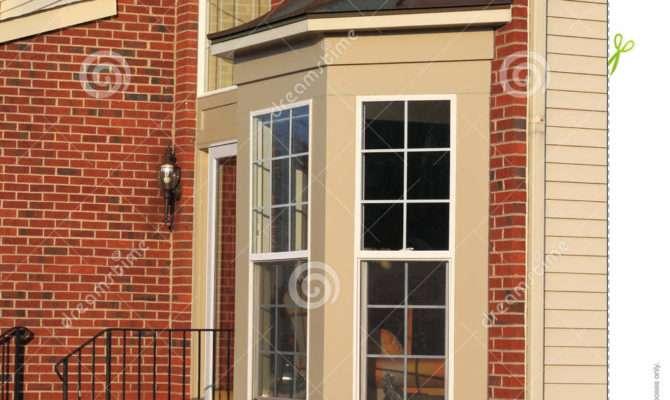 House Bay Window White Windows