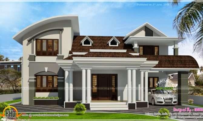 House Beautiful Dormer Windows Kerala Home Design Floor