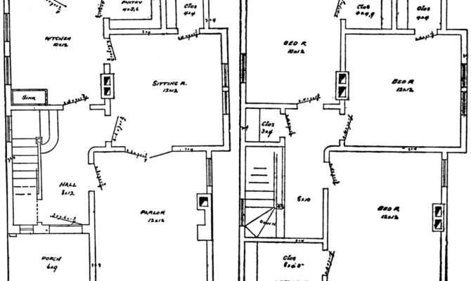 House Blueprint Clipart