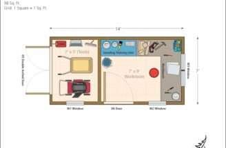 House Cabin Cottage Bunkies Garage Home Studio Floor Plans