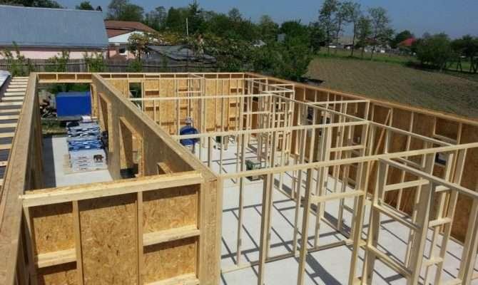 House Construction Wooden Frame Design Light Structure