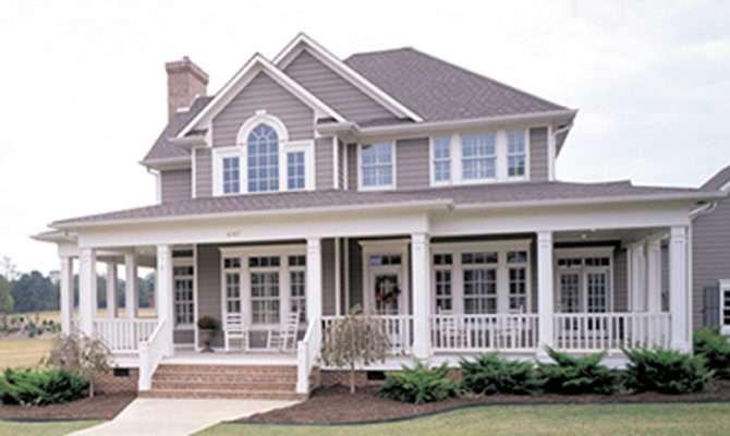 House Design Front Porch Homes Floor Plans