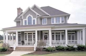 House Design Name French Country Farmhouse Plans