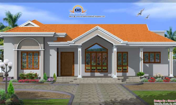 House Design One Floor Single