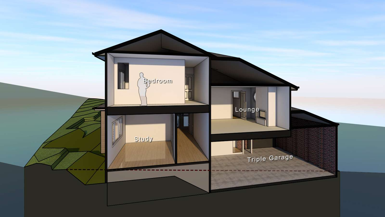 House Designs Sloping Blocks Melbourne Home Design Decor