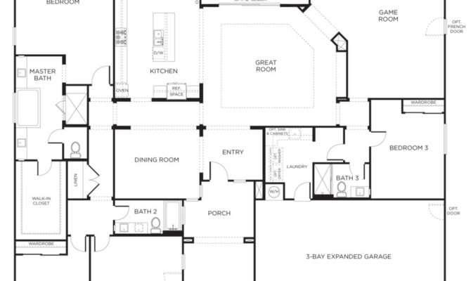 House Drawings Bedroom Story Floor Plans Basement