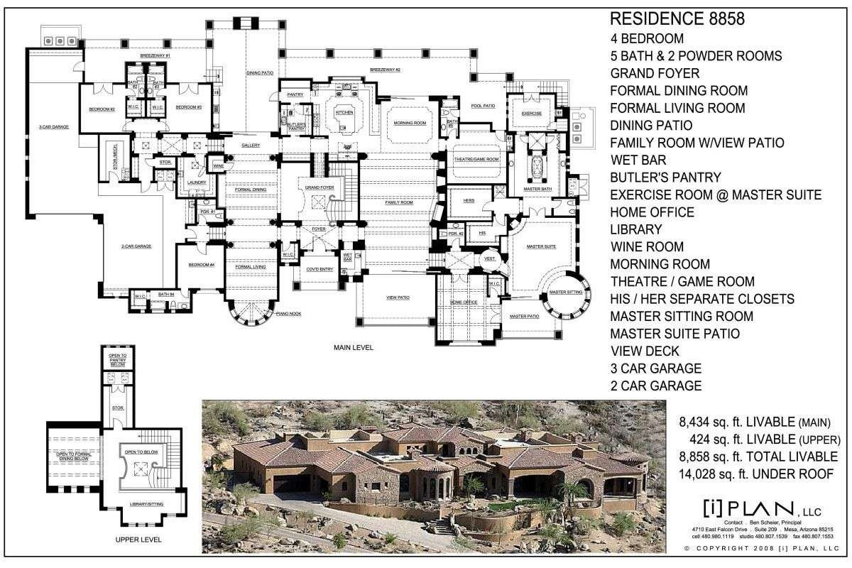 House Floor Plans Over