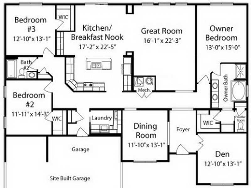 House Floor Plans Unique American Custom Home