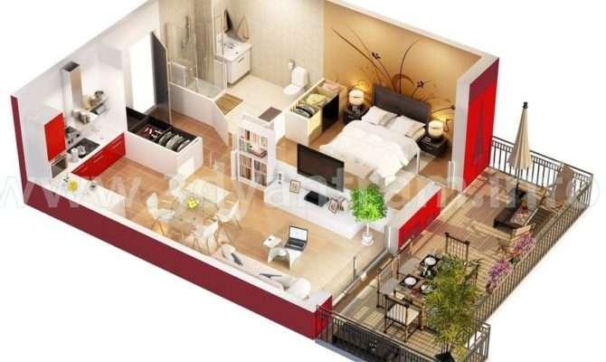 House Floors Plans Studio Apartments