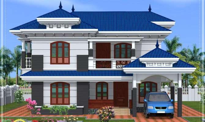 House Front Elevation Models Houses Plans Designs