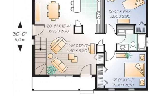 House Get Small Plans Two Bedroom Design Ideas