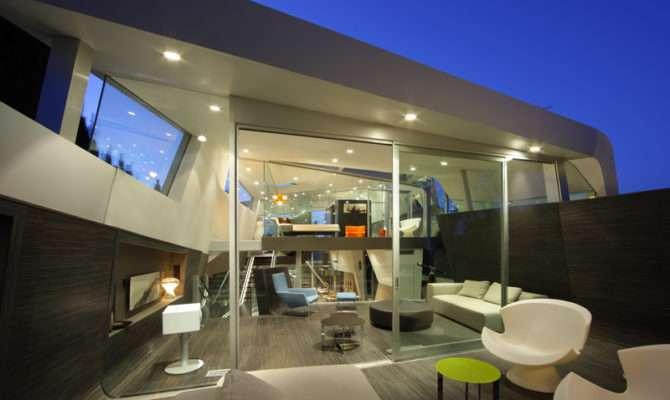 House Green Design Modern Interior