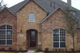 House Here Same Color Stone Brick