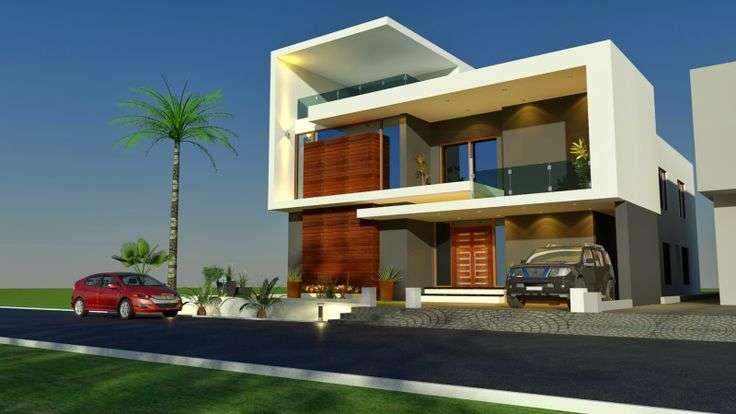 House Home Contemporary Modern Villa European