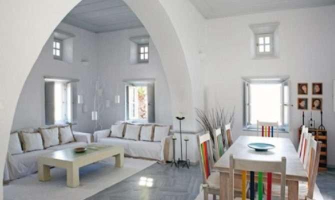 House Interior Ancient Greek Byzantine Tradition Decoholic