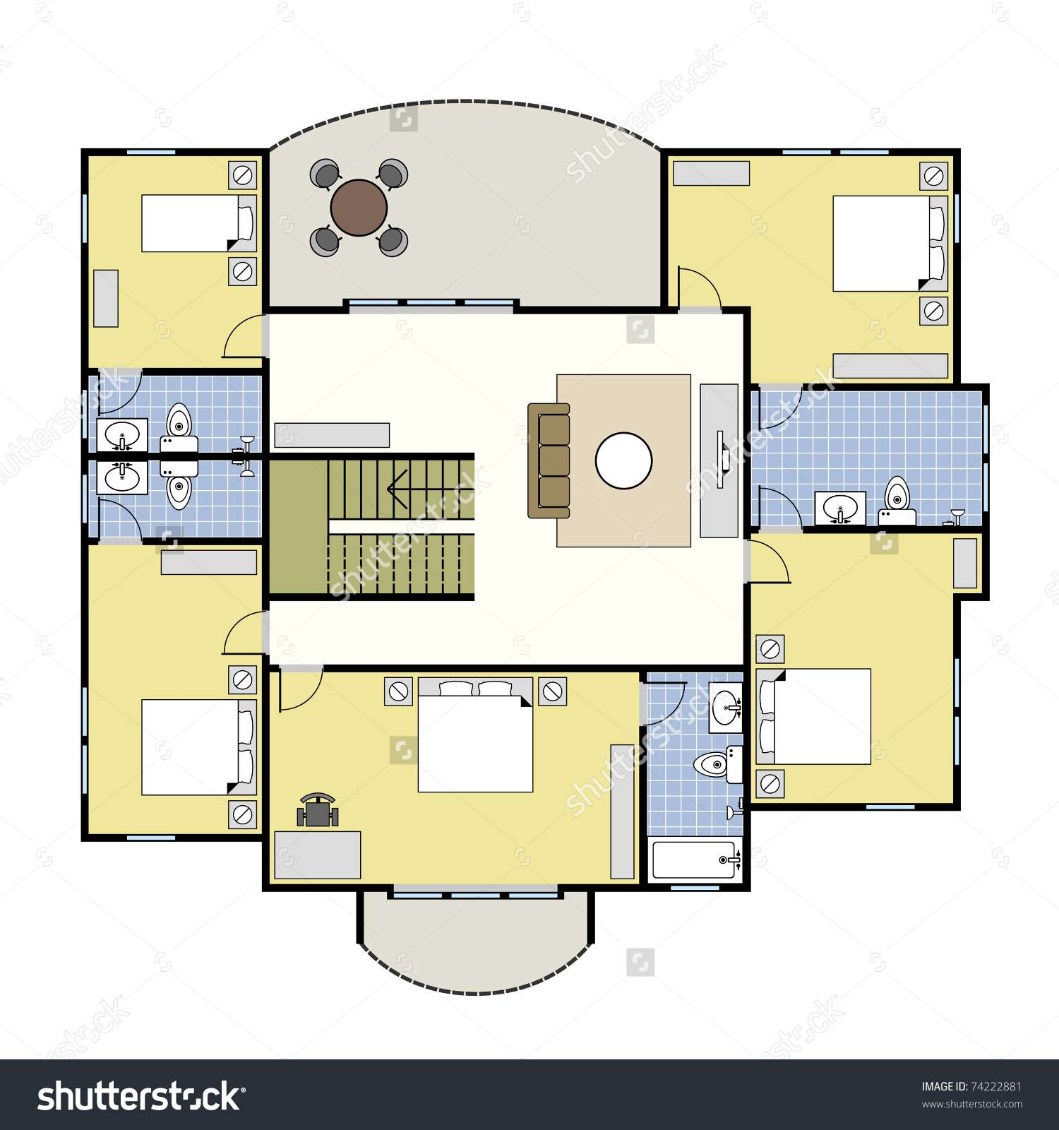 House Layout Plans Perfect Big Floor Plan Designs