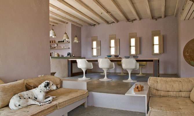House Located Island Serifos Greece Designed Architect