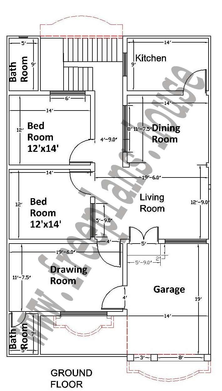 House Map Plan