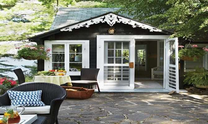 House Patios Cottage Guest Small