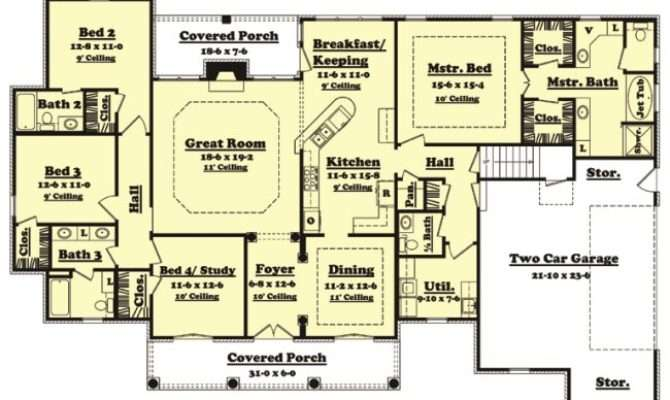 House Plan Cedarcrest Planhouse