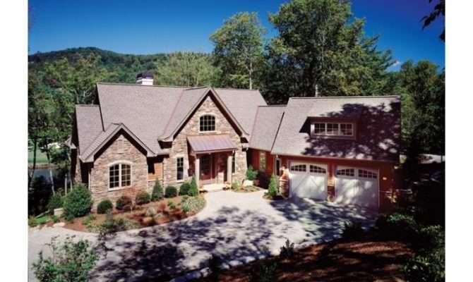 House Plan Craftsman Walkout Basement Home