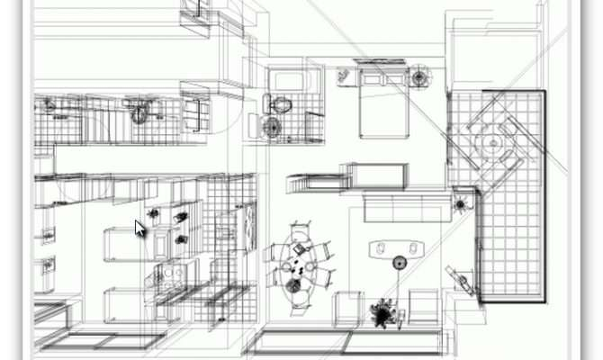 House Plan Design Dwg Cad Files Compatible Autocad