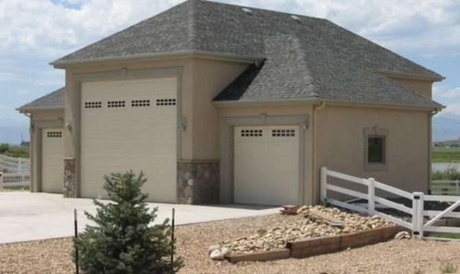 House Plan Garage Attached Idea Home