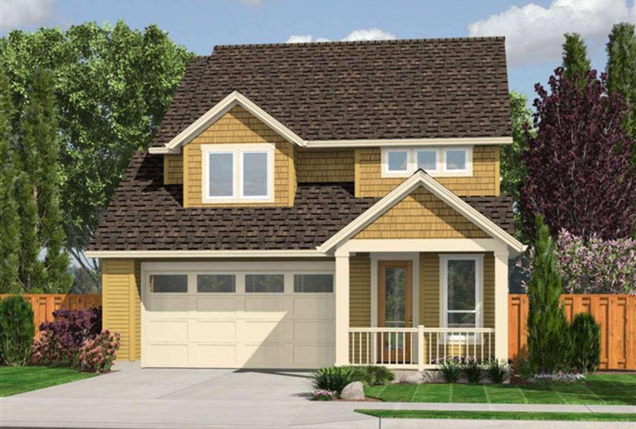 House Plan Garage Below