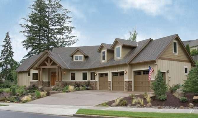 House Plan Halstad Craftsman Home Generous