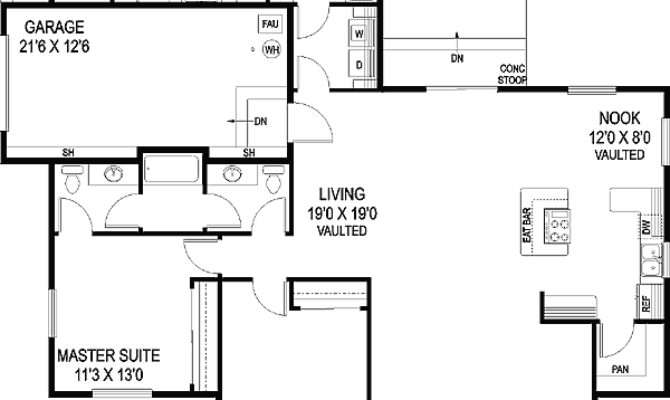 House Plan Law Suite Architectural