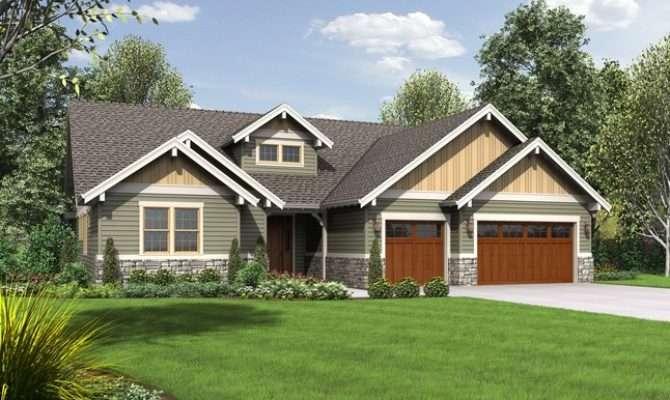 House Plan Lincoln Craftsman Plans