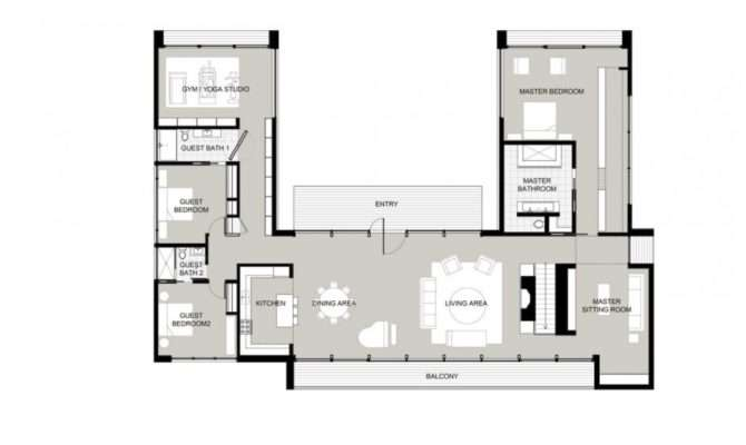 House Plan New Canaan Residence Interior Design Architecture