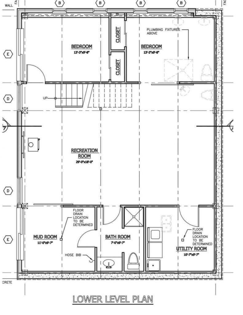 House Plan Pole Barn Floor Plans Morton Building