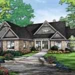 House Plan Quaint Craftsman Finished Walkout Basement