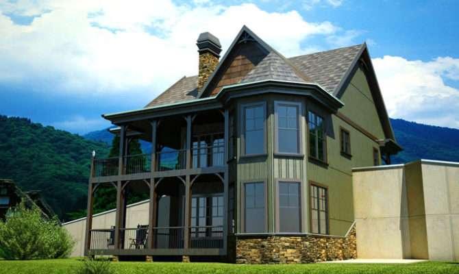 House Plan Walkout Basement Porches