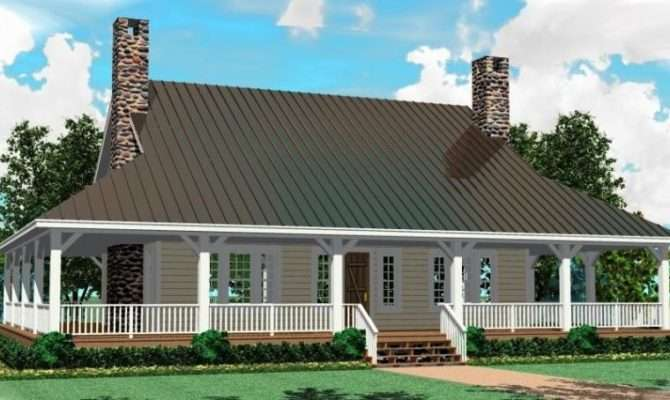 House Plan Wrap Around Porch Plans Floor Home