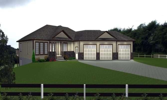 House Plans Attached Garage Venidami