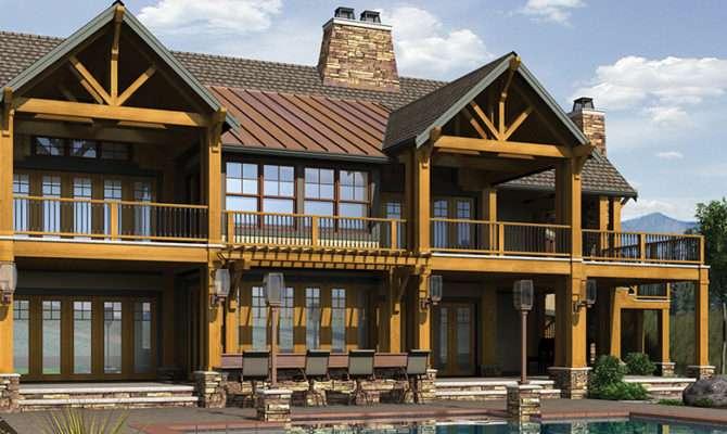 House Plans Basements Lake Walkout Two