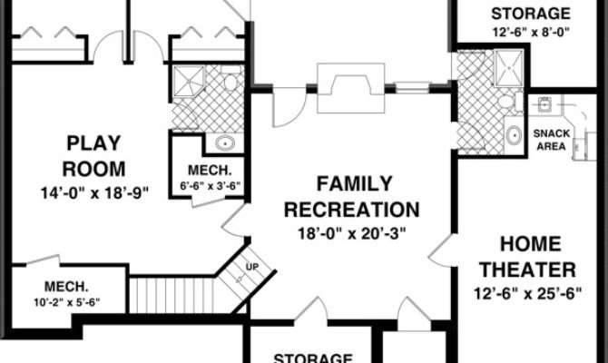 House Plans Basements Smalltowndjs