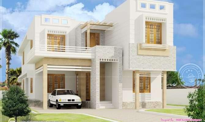 House Plans Beautiful Modern Design Kerala Home