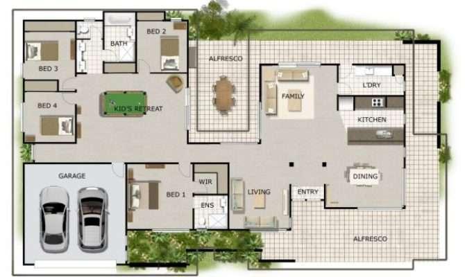 House Plans Bedroom Plan Custom