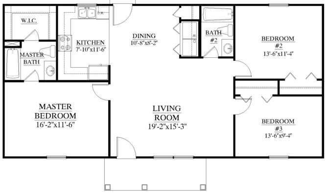 House Plans Bedrooms Baths Xiaobook