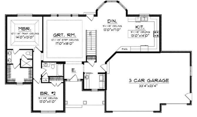 House Plans Big Kitchens Smalltowndjs