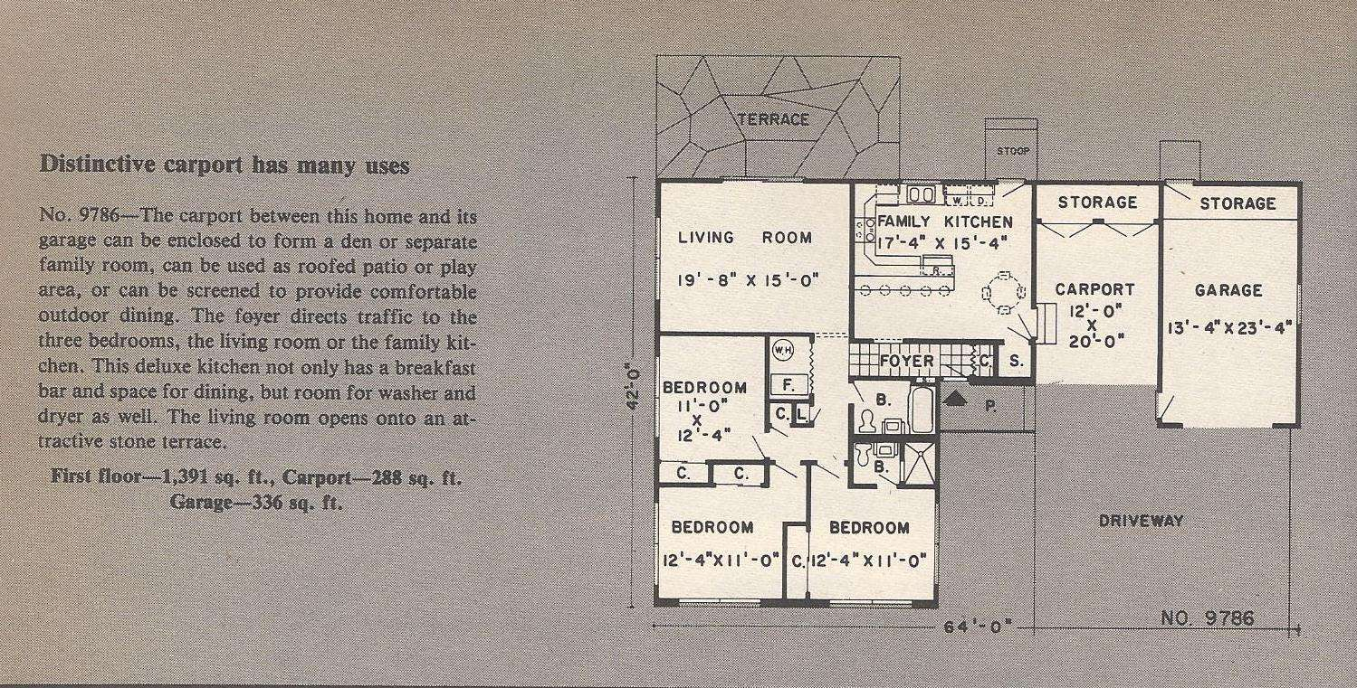 House Plans Carport Antique Alter Ego