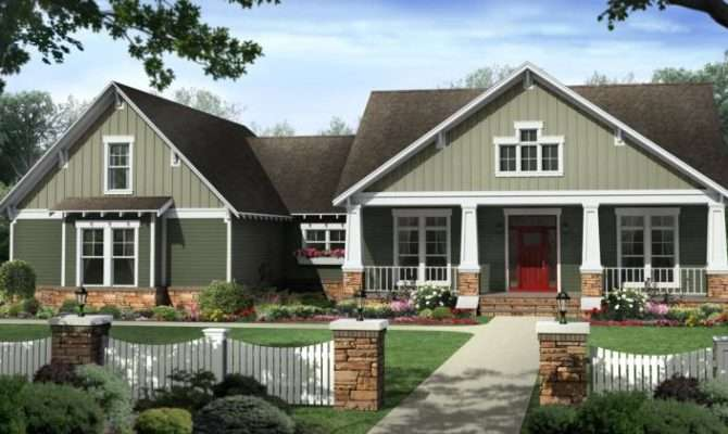 House Plans Contemporary Country Craftsman