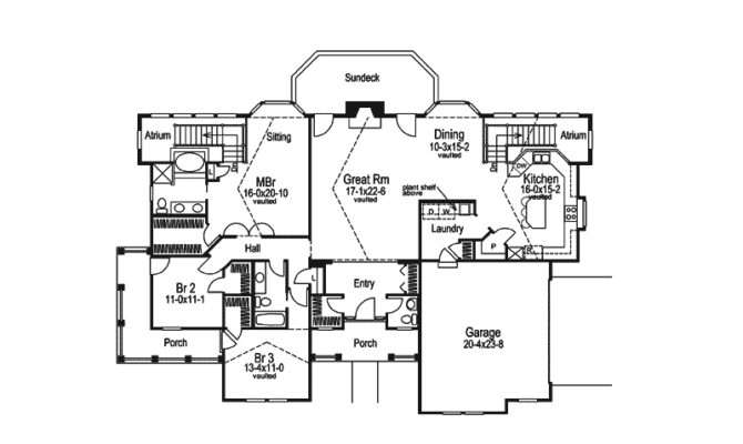 House Plans Country Craftsman More
