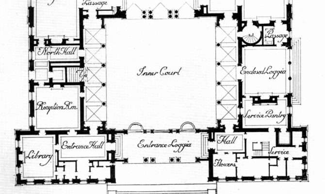 House Plans Courtyards New Apartments Courtyard Style