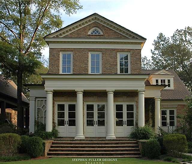House Plans Design Architectural Georgian