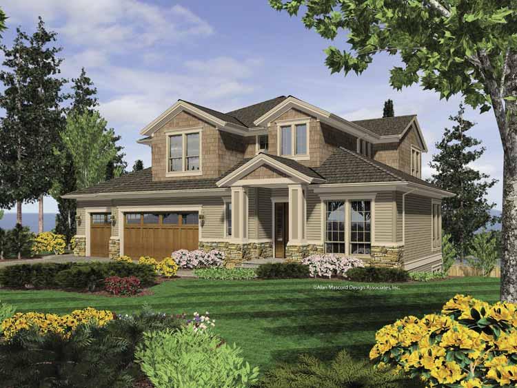 House Plans Design Modern Daylight Basement