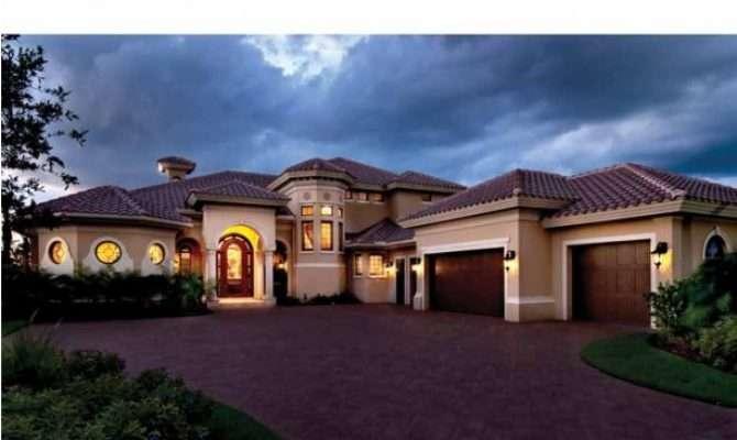 House Plans Design Modern Mediterranean